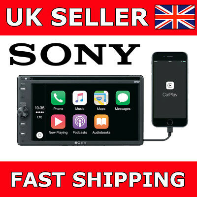 "Sony XAV-AX205DB 6.4"" CarPlay/Android Car Van Stereo DAB Bluetooth DVD"