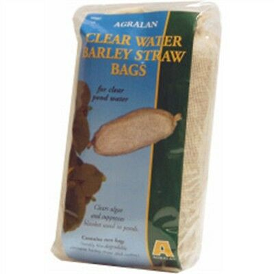 Clear Water Barley Straw Bag - Bags Agralan 2 Clears Ponds Pack Algae