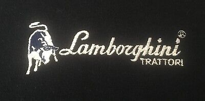 Lamborghini Trattori Tractor Embroidered Hoodie 29 Colours Small