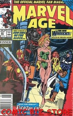 Marvel Age #89 (1990) 1St Printing Bagged & Boarded Marvel
