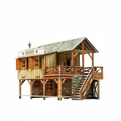Wild West Series - Sheriff's House - 3D Puzzle By Umbum Clever Paper