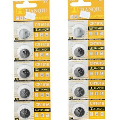 5Pcs CR1616 3V Coin Button Batteries Cell Battery For Watch Toys Remote Hot