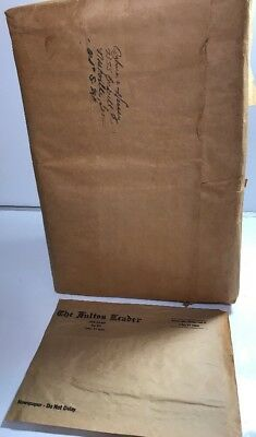 VINTAGE NEWSPAPER 10X13 Natural Paper Bags 2,000 Stone Container Corp. 2-6617