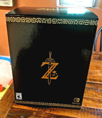 NEW Legend of Zelda: Breath of the Wild -- Master Edition (Nintendo Switch)