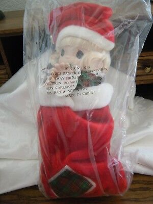"Precious Moments Limited Edition 16"" Porcelain Stocking Doll JINGLES"