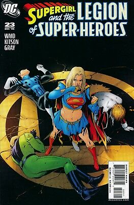 Supergirl and the Legion of Super-Heroes (DC, 2005 series) #23 VF