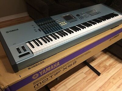 MINT Condition Yamaha MOTIF XS8 Keyboard Synthesizer (Original Packaging)
