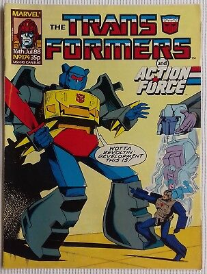 Transformers UK Comic Issue 174