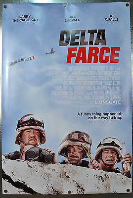 Delta Farce Original DS One Sheet Movie Poster 2006 27 x 40