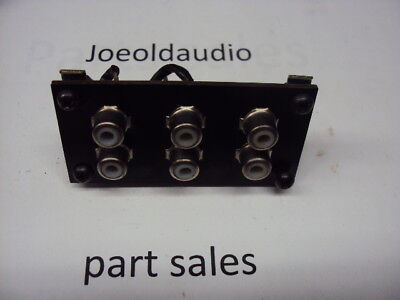 Pioneer SX-9000 RCA Jack Terminal. Read More Below. Tested Parting Out SX-9000.