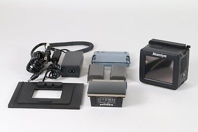 Mamiya DM 22 Camera Kit with Hahnel MCL 103 Battery Charger and 2x Batteries