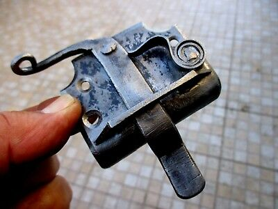 Antique Wrought Hasp Door / Gate Lock Shutter Hook Latch Door Old Rabbit Catch