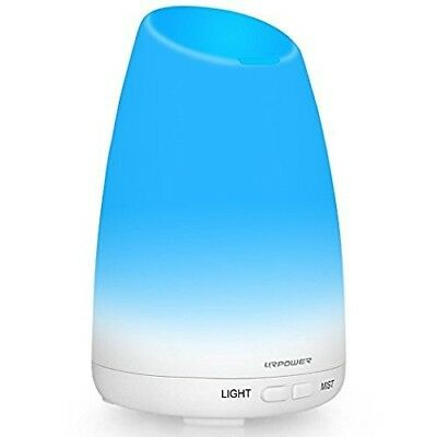 URPOWER 150ml Essential Oil Diffuser Aromatherapy Portable Ultrasonic