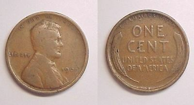 1909 VDB Lincoln Cent Very Good - Fine  VG - F