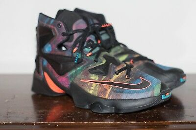 269f204d6d2 NEW NIKE LEBRON James 13 XIII Low Men s Basketball Shoes- Blackout ...
