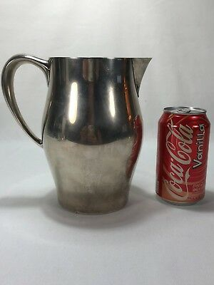 Super Clean 4 Pint Newport Sterling Silver REVERE STYLE Water Wine Pitcher 490g