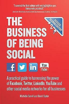 Business of Being Social 2nd Edition, Carvill, Michelle