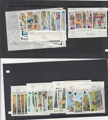 ISLE OF MAN £23+ FACE VALUE MINT MNH STAMPS FOR POSTAGE OR COLLECTOR 1990's