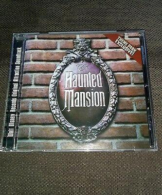 The Haunted Mansion Disney Theme Park Exclusive Attraction Soundtrack CD