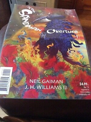 The Sandman: Overture #1 A Cover Gaiman DC VF Comics Book