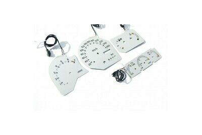 Ford Escort RS Cosworth - INDIGLO plasma dials, replacement glow gauges BLACK Di