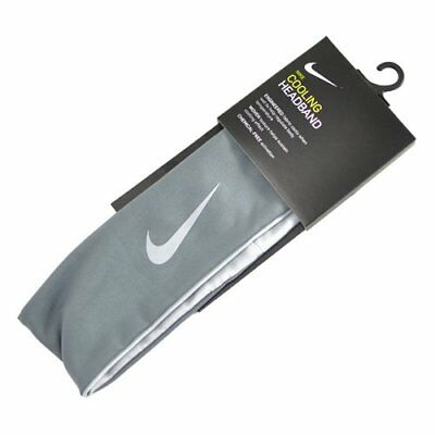 Nike Double Sided Cooling Headband , Grey