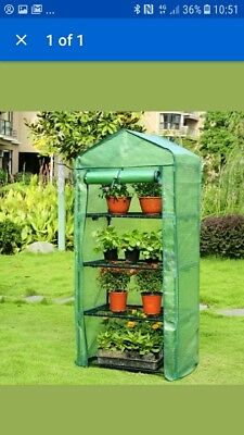 033ddd12687 Gardman Fleece Frost Protection Cover for 4 Tier Growhouse Mini Greenhouse