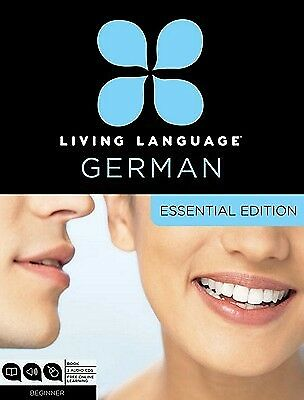Living Language German Essential Edition Beginner Course Inclu by Living Languag