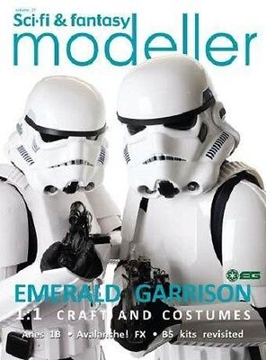 Sci-fi & Fantasy Modeller Vol 21  -  Emerald Garrison      98 Pages       New