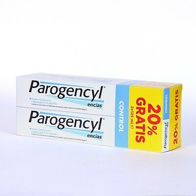 PACK 2x  PAROGENCYL CONTROL 125ml  TOOTHPASTE TOTAL 250ml