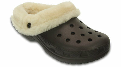 Crocs Unisex Classic Mammoth Luxe Shearling Lined Clog