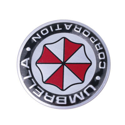 3D Umbrella Corporatio Emblem Autoaufkleber Sticker Resident Evil Tuning Car Neu