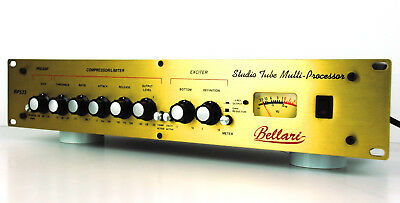 Bellari RP533 Warm Tube Preamp Channelstrip Opto Compressor Exciter + /GEWÄHR/