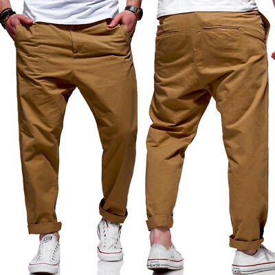 7d1aadf71c0789 Jack   Jones Jeans Hose JEFF Trendy Marco ANTI FIT Loose Chinohose Beige NEU