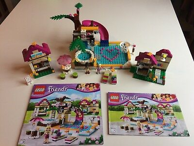 Lego Friends Heartlake City Pool 41008 Instructions Included