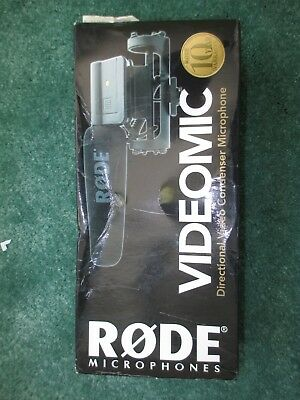 Boxed VGC Rode VideoMic Directional Condensor Shotgun Microphone 99p Cheap Post