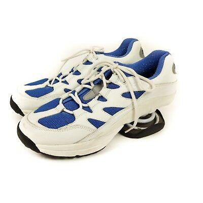Z-Coil FREEDOM CLASSIC NAVY//WHITE WOMENS FW-02005-W Comfort Wide Shoes Zcoil~