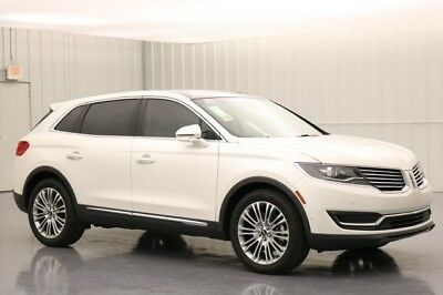 Lincoln MKX RESERVE 3.7 V6 FRONT WHEEL DRIVE SUV MSRP $56379 LINCOLN MKX TECHNOLOGY PACKAGE DRIVER ASSISTANCE PACKAGE 360 DEGREE CAMERA