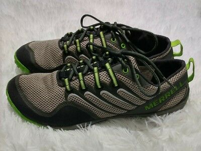 newest collection acb92 7e13e MERRELL TRAIL GLOVE Mens Barefoot Minimalist SHOES Gray Green Size 9 Vibram