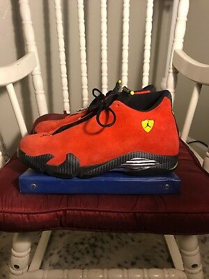 0bcd535976d Nike Air Jordan 14 XIV Retro Ferrari Size 13 654459-670. 100%AUTHENTIC