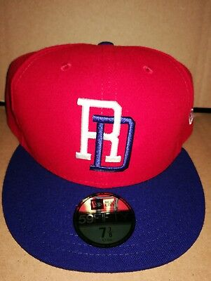 5687ef758cce2 WBC Dominican Republic World Baseball Classic New Era 59FIFTY Fitted Hat  7-7 8