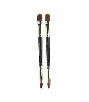 "Laura Mercier Dual End Eye Colour / Crème Eye Detail Brush Length 5"" (Pack Of 2)"