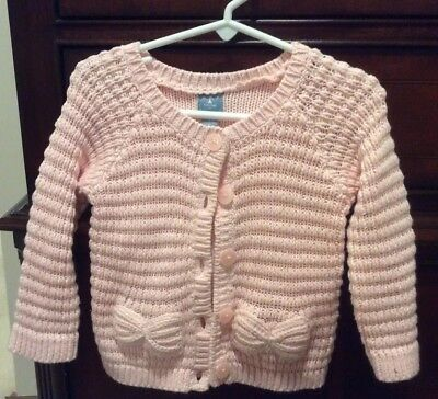 787fd253ab2d BABY TODDLER GIRLS Polly Flinders Cardigan Sweater Size 18 Months ...