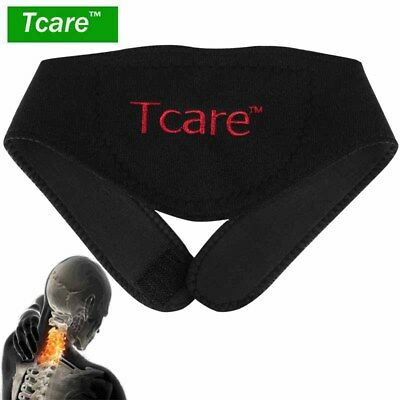 Self-heating Tourmaline Neck Belt Brace Magnetic Therapy Support Wrap Health