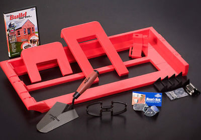 Bricky - Wall Building / Bricklaying Tool + trowel (Adjustable Model)