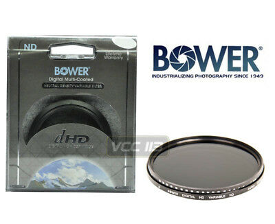 Bower 72Mm Neutral Density Variable Nd Fader Filter Lens 2 Nd4 Nd8 Nd400 Nd1000