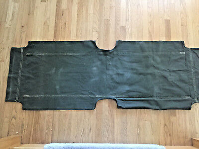 Korean War Era Canvas Cot Cover For M1938 Wooden Folding Cot (Exc. Condition)