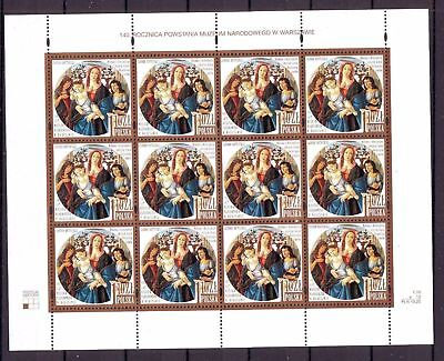Poland Polen 2002 sheet 40th anniversary of creation of Warsaw National Museum