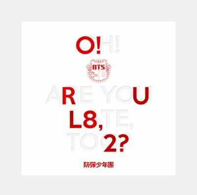 BTS [O!RUL8,2?] 1st Mini Album CD+POSTER+74p Photobook+2p Card (Official Album)