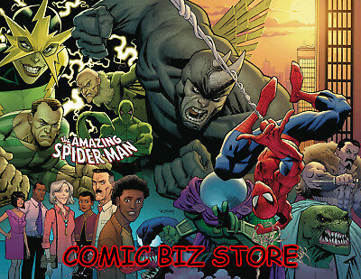 Amazing Spider-Man #1 (2018) 1St Print Main Cvr Bagged & Boarded Marvel ($5.99)